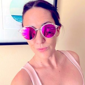 Removable Lens Mirrored Sunnies